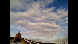 Weather Camera Timelapse + Music: January 2014