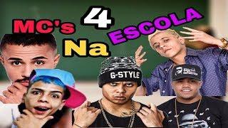 MC's NA ESCOLA 4 (Dani Russo, Mc Kevin, Mc Pedrinho, Mc Lan, Mc Davi...)