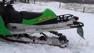 8. 2003 Arctic Cat F7 EFI THE FAST ONE