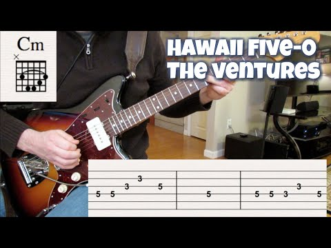 Hawaii Five-0 (cover with tabs and chords)