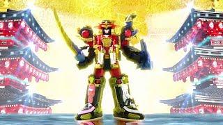 Power Ninja Steel  Transformación en Megazord Ninja Steel y Modo Ninja Maestro - Capitulo 3