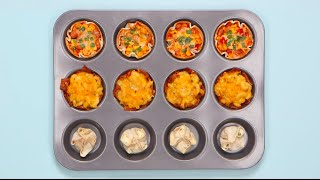 3 Deliciously Simple Muffin Tin Appetizer Ideas by POPSUGAR Food