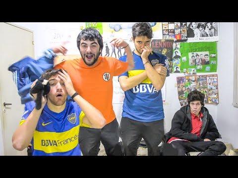 huracán vs boca | torneo argentino 2017 | reacciones de amigos