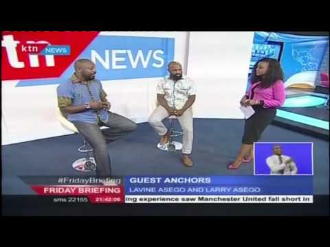 Friday Briefing Guest Anchors: Larry and Lavine Asego (29th April 2016)