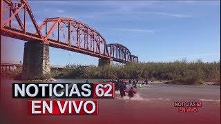 Migrantes desesperados cruzan el Rio Bravo. – Noticias 62. - Thumbnail