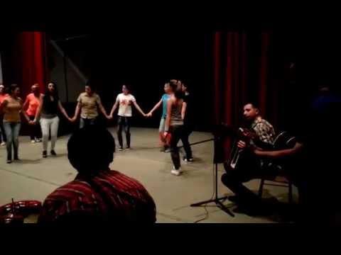 Prove di musica serba nel teatro di Kostajnica