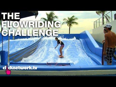 The FlowRiding Challenge - Chick vs. Dick: EP58 (видео)