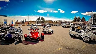 10. Spyder's Are Everywhere!! • RT Limited Test Ride! | TheSmoaks Vlog_1227