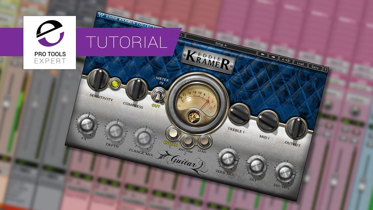 Tutorial – Mixing Electric Guitar Using Waves Kramer Guitars Plug in