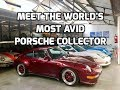 Meet the world's most avid Porsche collector