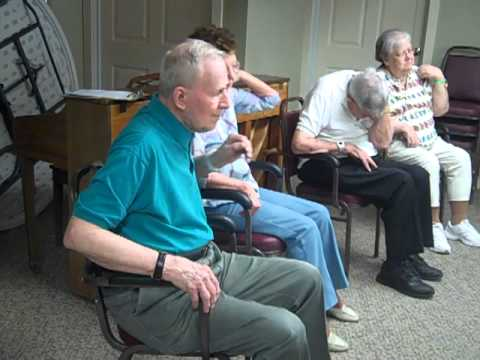 Senior Exercise Class at Assisted Living Community