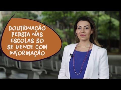 Carol Lombardi: enfrentando a doutrinação petista na escola
