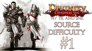"""Currently the most asked for LP, let's do this!TK on Twitch: http://www.twitch.tv/trendstreamv01TKs Twitter: http://www.twitter.com/TrendKiLLv01SNK's Channel: http://www.youtube.com/SNK8Four""""Divinity: Original Sin is an isometric, single-player and cooperative multiplayer fantasy RPG with tactical turn-based combat, a highly interactive world, and lots of choices and consequences. The game will ship with the same editor that Larian Studios used to make the game, allowing anyone to create their own single-player and multiplayer adventures, and publish them online.""""http://www.divinityoriginalsin.com/"""