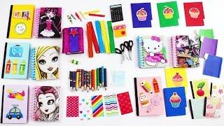 Video #2 Bebek Okul Malzemeler Yapımı - Monster High ve Barbie Okul Malzemeler nasıl yapılır?- Kendin Yap MP3, 3GP, MP4, WEBM, AVI, FLV November 2017