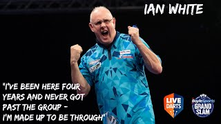 """Ian White: """"I've been here four years and never got past the group – I'm made up to be through"""""""