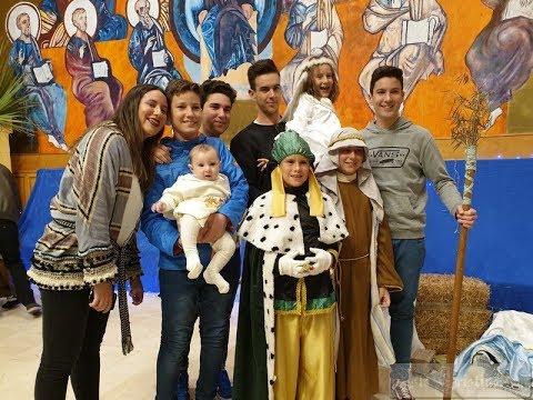 Resumen sobre la Escenificación de la Navidad, celebrada en la Parroquia Ntra. Sra. del Mar