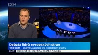Debata lídrů evropských stran