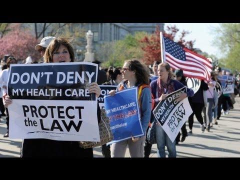 Supreme Court debates Obama healthcare reform