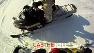 2. Arctic cat M1000 SNO PRO best powder run February 2012 GOPRO HERO HD