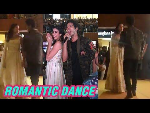 Janhvi Kapoor And Ishaan Khatter Romantic Dance In