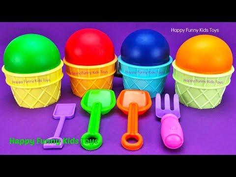 Play Doh Ice Cream Cups Surprise Eggs Minions Splashlings Zuru 5 Surprise Toys Chupa Chups Star Wars
