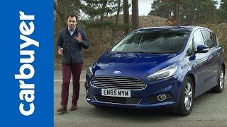 Ford S-MAX MPV review - Carbuyer by Carbuyer