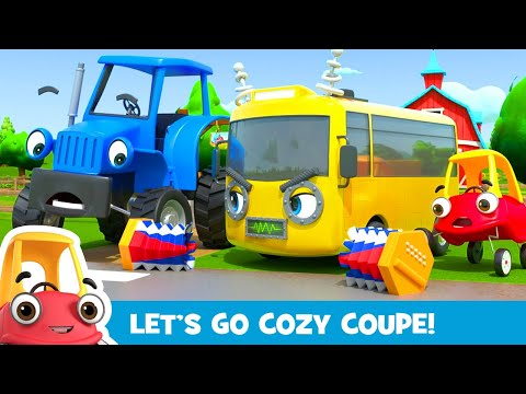 Robot Buster is Being Mean! - Stand Up to Bullies | Kids Videos | Cozy Coupe - Cartoons for Kids