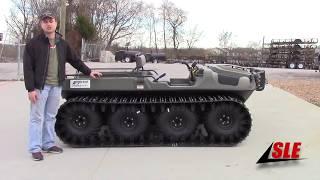 10. Argo Frontier 8x8 650 ATV / UTV Tundra Green Off Road Amphibious Review