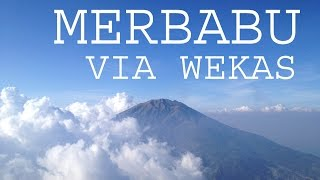 Video Merbabu via Wekas, Indonesia MP3, 3GP, MP4, WEBM, AVI, FLV Desember 2017