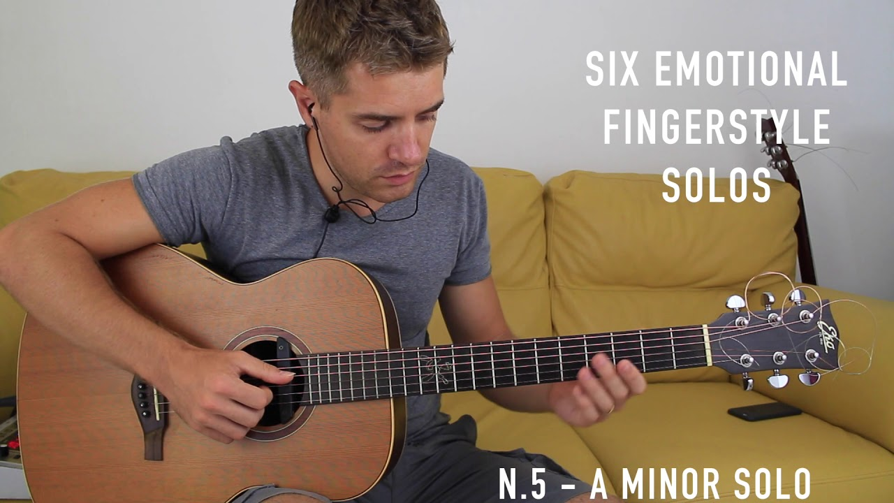 Six Emotional Fingerstyle Solo on Acoustic Guitar