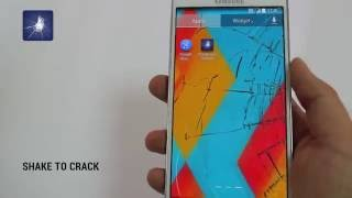 Cracked Screen Prank YouTube video