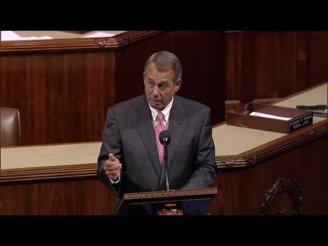 Video: Speaker Boehner Urges House to Protect Unborn Babies