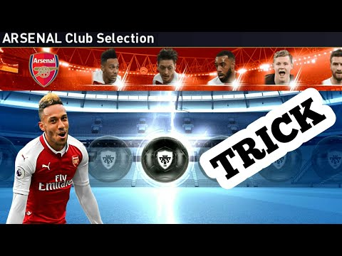 ARSENAL CLUB SELECTION_THUNDER BLACK BALL TRICK / PES 2019