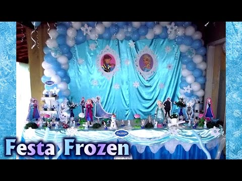 Video Decoração de #festa Tema Frozen - Anna, Elsa, Olaf - Aniversário / Party Kids / #Fiesta / Ideias download in MP3, 3GP, MP4, WEBM, AVI, FLV January 2017
