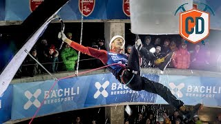 Leap Of Faith: HUGE Ice Climbing DYNO | Climbing Daily Ep.1603 by EpicTV Climbing Daily