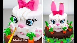 Video Easter BUNNY Cake - How to by Cakes StepbyStep MP3, 3GP, MP4, WEBM, AVI, FLV September 2018