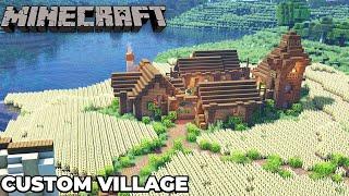 Minecraft 1.15 TINY Village Base Timelapse