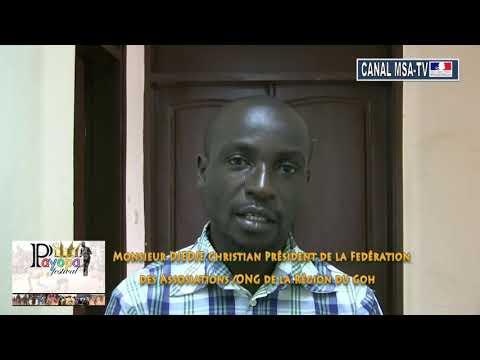 Spot annonce de la présence de M. Djédjé , Président de la Fédération des ONG de la Région du Gôh