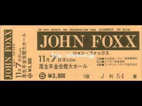 John Foxx interview – 1983: Ultravox founding member goes solo