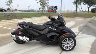 4. 002115   2014 Can Am Spyder ST LIMITED SE5 Used motorcycles for sale