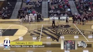 Rochester Boys Basketball vs Southwood