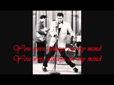 ", title : 'Elvis Presley ""Always on my mind"" with Lyrics on Screen'"