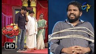 Hyper Aadi, Raising Raju Performance | Jabardasth | 26th July 2018 | ETV  Telugu