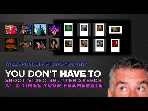 Myth Busted:  Should You Use a Shutter Speed That's 2x Framerate for Video?  Not So Fast…