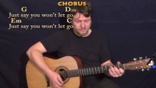 Video Say You Won't Let Go (James Arthur) Strum Guitar Cover Lesson in G with Chords/Lyrics download in MP3, 3GP, MP4, WEBM, AVI, FLV Mei 2017