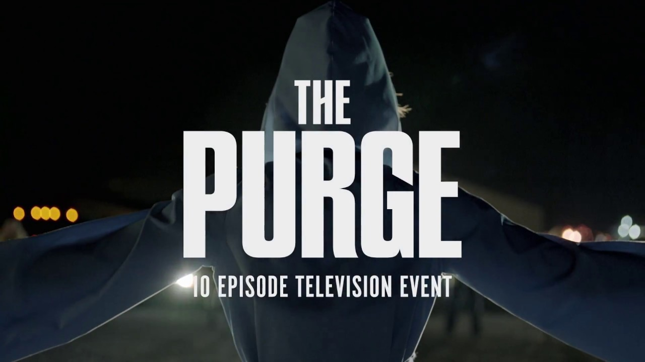 THE PURGE Series Trailer USA