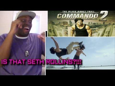HOLY SHHH!!! Commando 2 | Official Trailer | Vidyut Jammwal REACTION!!!