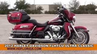 10. Used 2012 Harley Davidson  Ultra Classic Electra Glide Motorcycles for sale