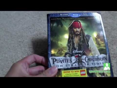 0 Unboxing POTC: On Stranger Tides Blu Ray
