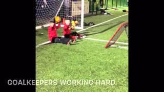 Goalkeeping Training at Pollok Utd 2006